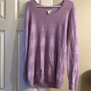 Old navy waffleknit sweater